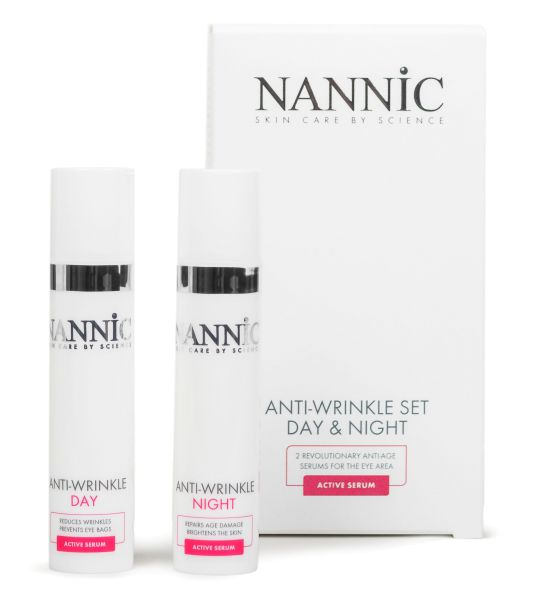 Anti Wrinkle Eye & Lip Set Day and Night