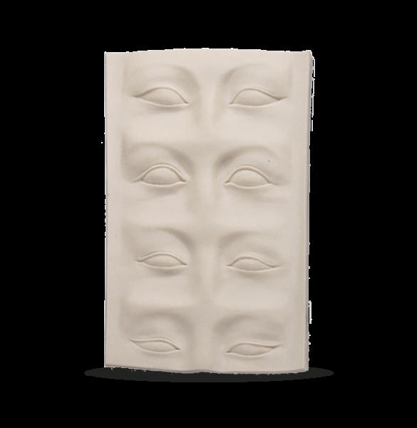 3D Übungsmatte Braue/Lid